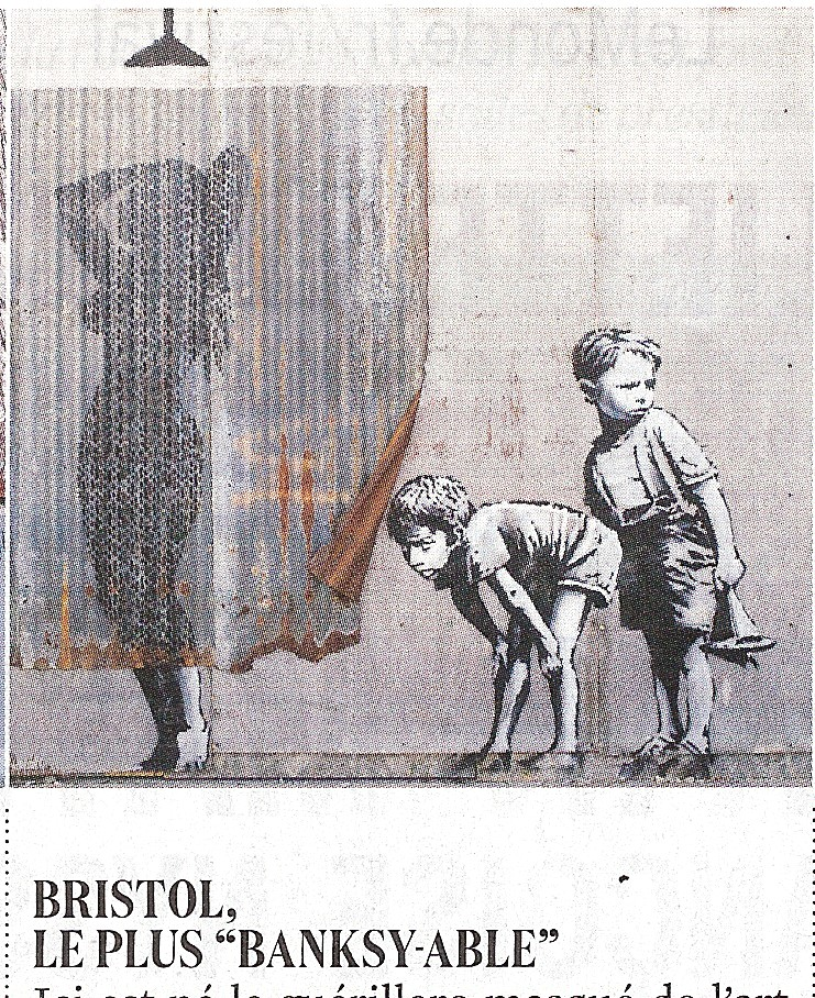"""BRISTOL, The Most """"BANKSY-ABLE"""""""