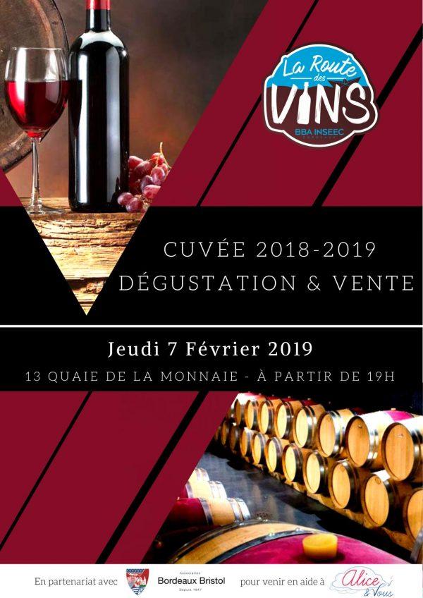 La Route des Vins BORDEAUX-BRISTOL version 2019
